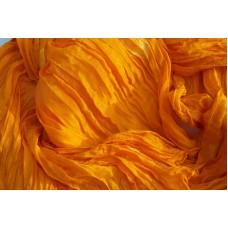Šála ve žlutooranžových odstínech 90x180 mm
