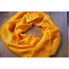 Šála ve žlutooranžových odstínech  45x180 mm